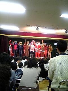 X'mas会in幼稚園