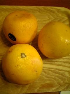 グレープフルーツのシロップ漬け